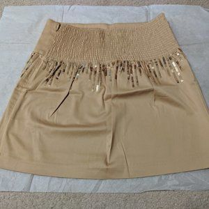 NWT Women's Free People Sequined Skirt 4